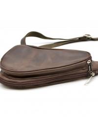 Коричневый мужской рюкзак на одно плечо Tarwa RC-3026-3md