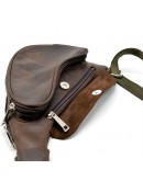 Фотография Коричневый мужской рюкзак на одно плечо Tarwa RC-3026-3md