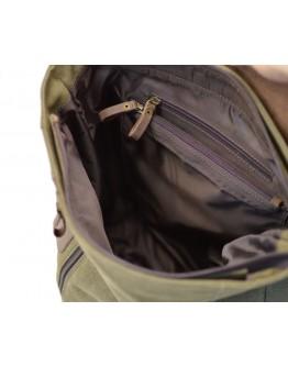 Рюкзак из прочной ткани и натуральной кожи Tarwa RC-3880-H
