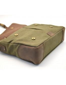 Мужской портфель - сумка из кожи и ткани Tarwa RC-3960-H