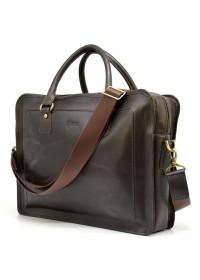 Коричневый мужской коричневый кожаный портфель Tarwa RC-4666-4lx