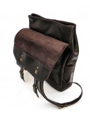 Фотография Темно-коричневый кожаный мужской рюкзак Tarwa RC-9001-4lx