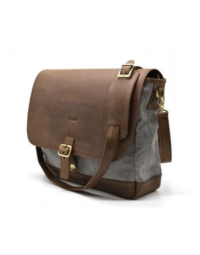 Фотография Кожаная мужская универсальная сумка Tarwa RG-1809-4lx