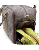 Фотография Серо-коричневая мужская дорожная сумка Tarwa RG-3032-4lx