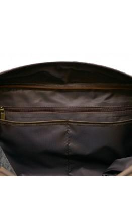Серо-коричневая мужская дорожная сумка Tarwa RG-3032-4lx