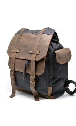 Серый мужской вместительный тканевый рюкзак Tarwa RG-6680-4lx