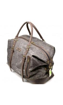 Серая вместительная тканевая дорожная сумка Tarwa RG-8310-4lx