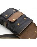 Фотография Рюкзак из прочной ткани и кожи Tarwa RG-9001-4lx