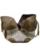 Фотография Дорожная мужская сумка из ткани и кожи Tarwa RGj-1633-4lx