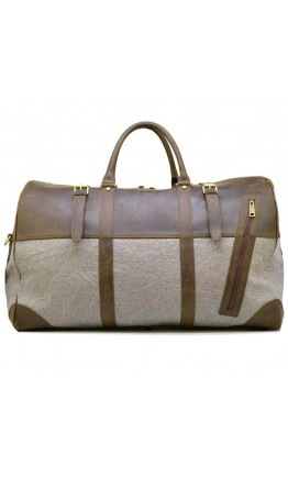 Дорожная мужская сумка из ткани и кожи Tarwa RGj-1633-4lx