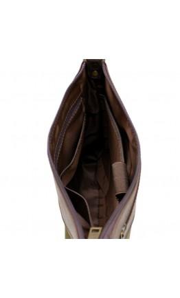 Сумка мужская планшетка из ткани и кожи Tarwa RH-1807-221