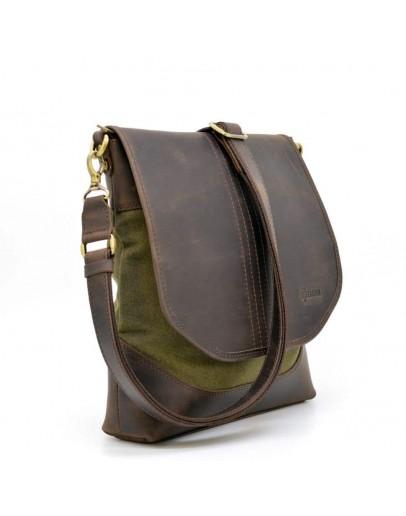 Фотография Вместительная мужская сумка с клапаном Tarwa RH-18072-4lx