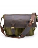 Фотография Мужская вместительная сумка на плечо Tarwa RH-6690-4lx