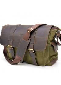 Мужская вместительная сумка на плечо Tarwa RH-6690-4lx
