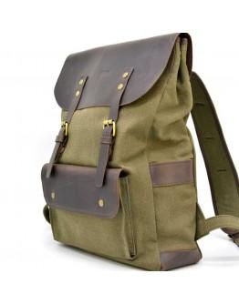Универсальный мужской рюкзак из кожи и ткани Tarwa RH-9001-4lx
