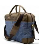 Фотография Мужская кожаная добротная деловая сумка Tarwa RK-0458-4lx