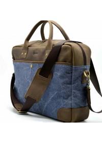 Мужская кожаная добротная деловая сумка Tarwa RK-0458-4lx