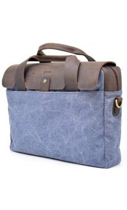 Сине-коричневая мужская сумка для ноутбука Tarwa RK-1812-4lx