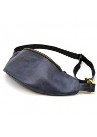 Синня винтажная мужская сумка на пояс Tarwa RK-3036-4lx