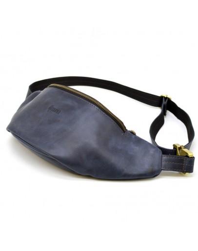 Фотография Синня винтажная мужская сумка на пояс Tarwa RK-3036-4lx