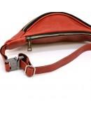 Фотография Женская красная сумка на пояс - бананка Tarwa RR-3035-4lx