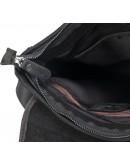 Фотография Мужская сумка на плечо, серо-черная RR-8399A