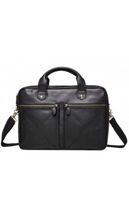Черная городская деловая мужская сумка Rb012A