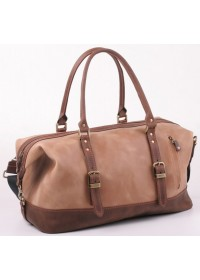 Коричневая вместительная мужская сумка для командировок Manufatto S7-1brown