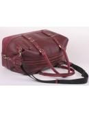 Фотография Вместительная кожаная сумка для командировок Manufatto S7-3 redbrown