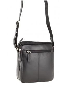 Черная мужская сумка Visconti S8 (Black)