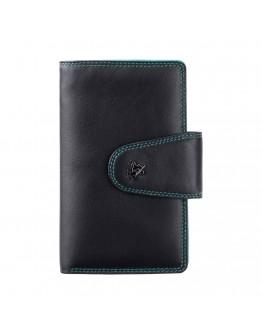 Черный мужской кошелек Visconti SP30 Ylang c RFID (Black Multi)