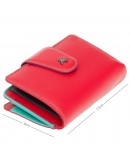 Фотография Красный кожаный кошелек Visconti SP31 Poppy c RFID (Red Multi Spectrum)