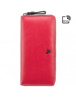 Красное портмоне Visconti SP79 Violet c RFID (Red Multi Spectrum)