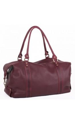 Женская дорожная сумка красного цвета Manufatto SV-1Bordo
