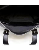 Фотография Сумка кожаная черная деловая для документов Tarwa TA-0041-4lx
