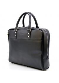 Черный мужской кожаный портфель - сумка Tarwa TA-4765-4lx
