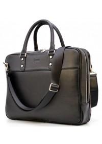Черная деловая городская сумка для документов Tarwa TA-4766-4lx