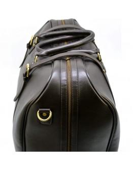 Дорожная мужская темно-коричневая сумка Tarwa TB-1133-4lx
