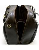 Фотография Дорожная мужская темно-коричневая сумка Tarwa TB-1133-4lx