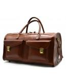 Фотография Коричневая мужская дорожная деловая сумка Tarwa TB-5664-4lx