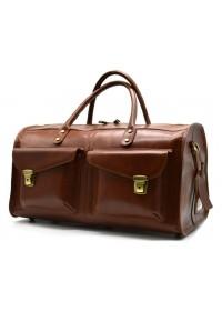 Коричневая мужская дорожная деловая сумка Tarwa TB-5664-4lx