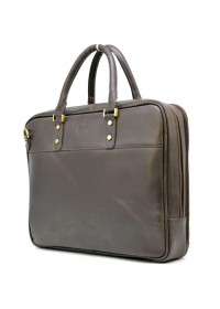 Коричневая деловая мужская сумка для документов Tarwa TC 4766 4lx