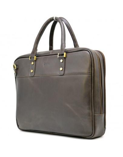 Фотография Коричневая деловая мужская сумка для документов Tarwa TC 4766 4lx