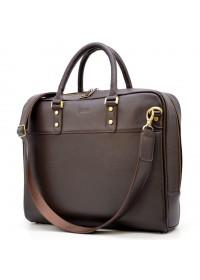 Мужская коричневая сумка - портфель Tarwa TC-4765-4lx