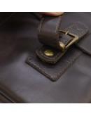 Фотография Мужская коричневая кожаная сумка на плечо Tarwa TC-6002-3md