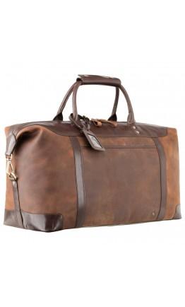 Дорожная мужская кожаная сумка Visconti TC152 Voyager (Tan Merlin)