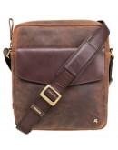 Фотография Коричневая сумка через плечо Visconti TC70 Vesper A5 (Havana Tan)