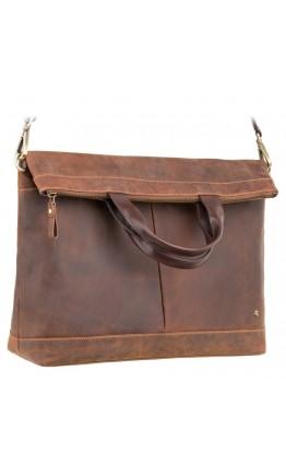 Удобная кожаная мужская сумка Visconti TC74 Axel (Havana Tan)