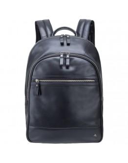 Кожаный черный мужской рюкзак Visconti TC80 Tank 13 (Black)