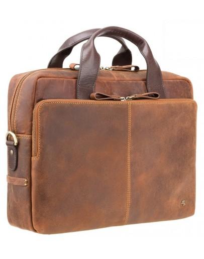 Фотография Деловая сумка для документов Visconti TC82 Hugo (Tan Merlin)